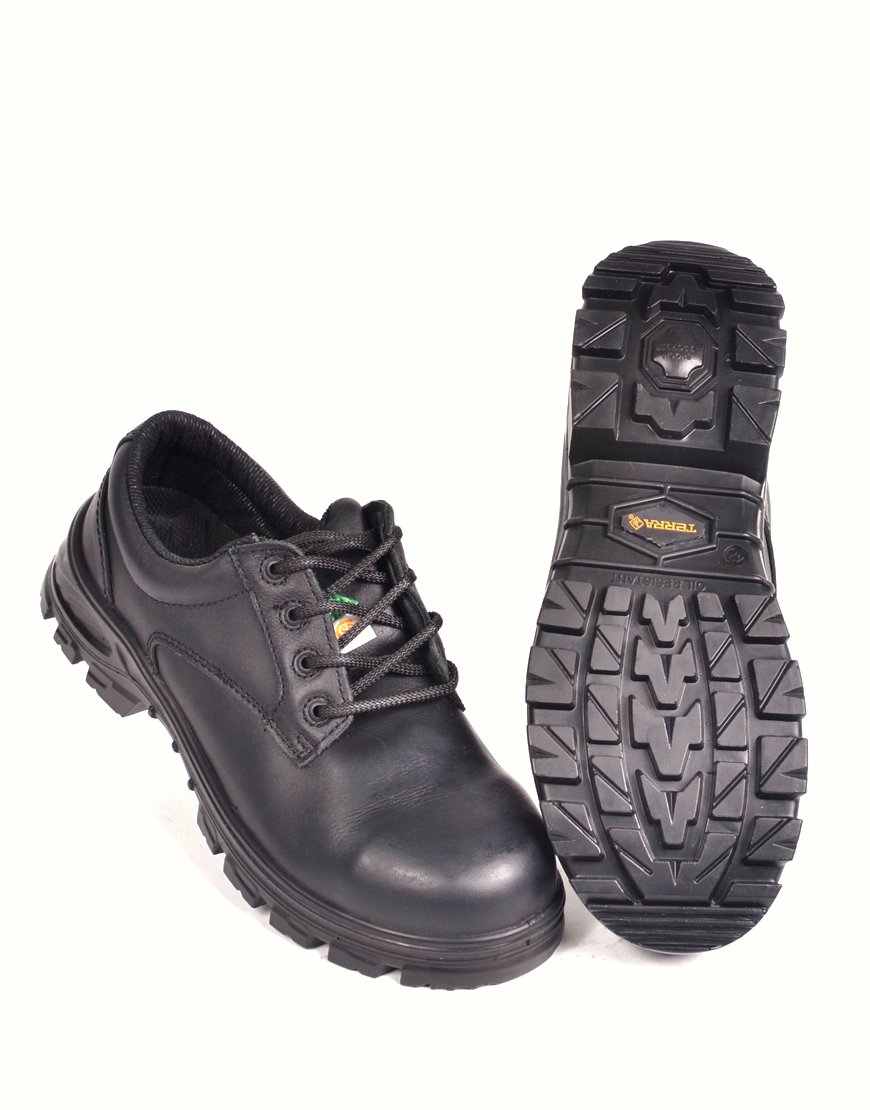 3d94a1ae72684 SAFETY SHOES TERRA ALBANY - BLACK - LCR Vêtements et Chaussures